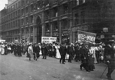 Suffragettes Art Print by F. J. Mortimer