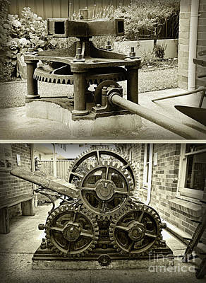 Photograph - Sugar Crushing Mill C1871 By Kaye Menner by Kaye Menner