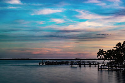 Blue Hues - Sugar Sand From The Bridge by Christopher Specht