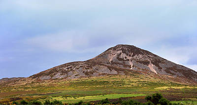 Photograph - Sugarloaf Hill. Ireland by Jenny Rainbow