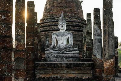 Photograph - Sukhothai Buddha by Ian Robert Knight
