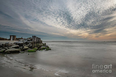 Photograph - Sullivan's Island Salt Water Days by Dale Powell