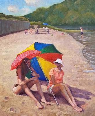 Painting - Summer At Jersey Valley by Jeff Dickson