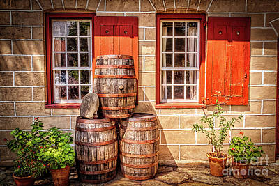 Photograph - Summer At The Old Salem Mercantile Store by Dan Carmichael