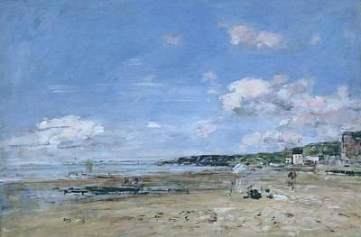 Kids Alphabet Royalty Free Images - Summer at Trouville, 1895 Royalty-Free Image by Eugene Boudin