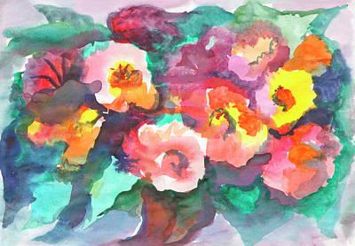 Painting - Summer Bouquet by Irina Dobrotsvet