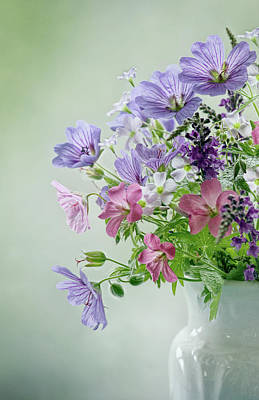 Photograph - Summer Bouquet by Mandy Disher Photography