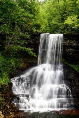 Photograph - Summer Cascades by Alan Raasch