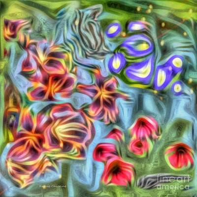Digital Art - Summer Colors by Kathie Chicoine