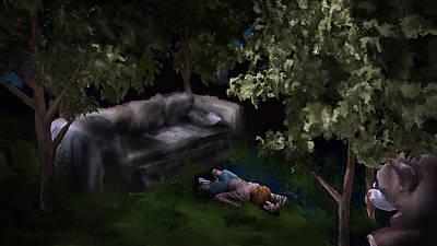 Digital Art - Summer Day Dreams by Luke Blevins