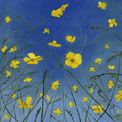 Painting - Summer Days And Lazy Ways by Helen White
