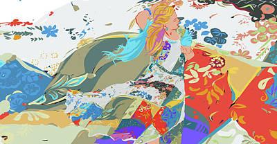 Digital Art - Summer Dress by Judith Barath