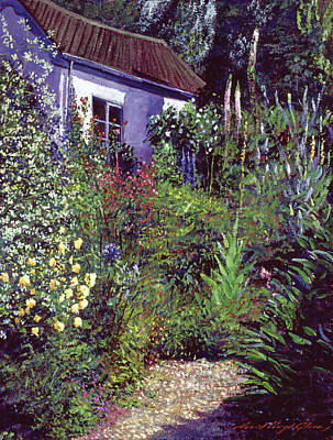 Painting - Summer Garden Impressions by David Lloyd Glover