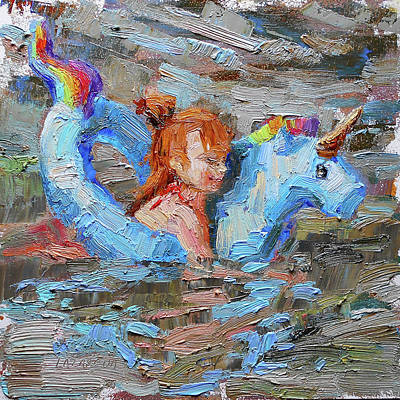 Painting - Summer holiday by Valerie Lazareva