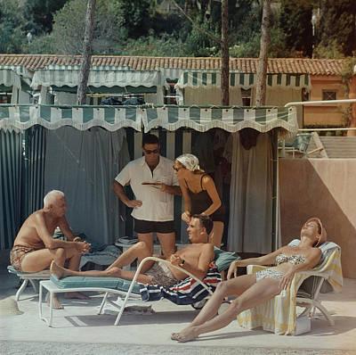 Swimwear Photograph - Summer In Monaco by Slim Aarons