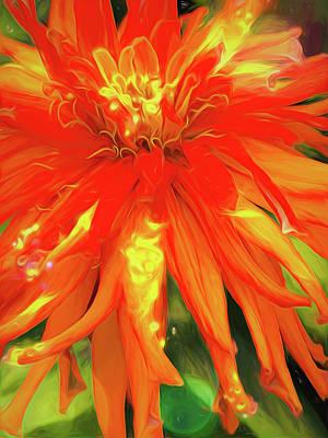 Cindy Digital Art - Summer Joy by Cindy Greenstein