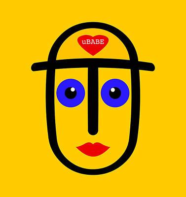Digital Art - Summer Love by Ubabe Style