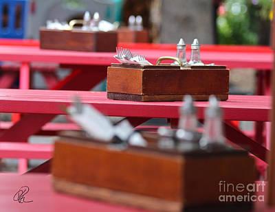 Photograph - Summer Lunch by Ann E Robson