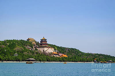 Photograph - Summer Palace by Iryna Liveoak