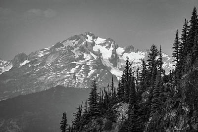 Photograph - Summer Peak by Dave Matchett