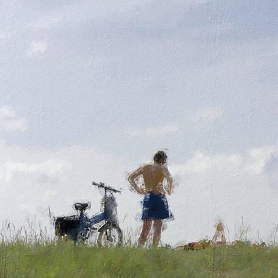 Digital Art - Summer by Pekka Liukkonen