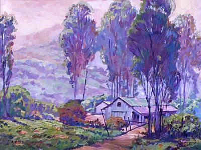 Painting - Summer Smoke by David Lloyd Glover