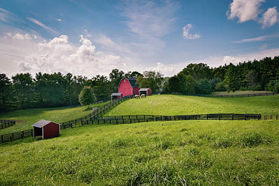 Photograph - Summer Stable II by James Meyer