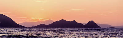 Photograph - Summer Sunset At The Mediterranean II by Anne Leven