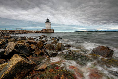 Photograph - Summer Tides At Bug Light by Jesse MacDonald