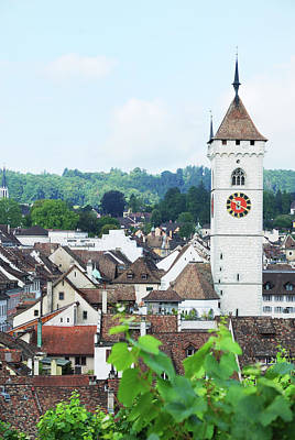 Cityscapes Photograph - Summer View Of Schaffhausen by Oks mit