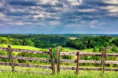Countryside Wall Art - Photograph - Summer Vista by Tom Mc Nemar