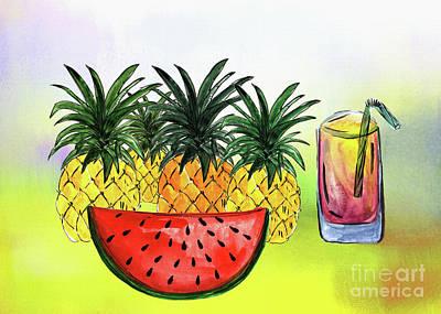 Photograph - Summertime Fruit By Kaye Menner by Kaye Menner