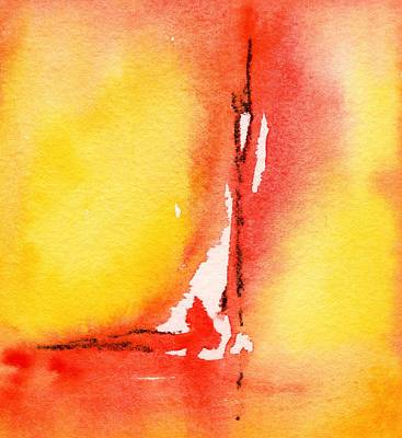 Painting - Summertime Honey Hole 2 by Carlin Blahnik CarlinArtWatercolor