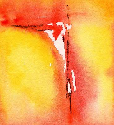 Painting - Summertime Honey Hole 4 by Carlin Blahnik CarlinArtWatercolor