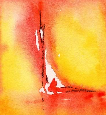 Painting - Summertime Honey Hole 1 by Carlin Blahnik CarlinArtWatercolor