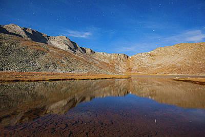 Photograph - Summit Lake Stars 1a by Al Hann