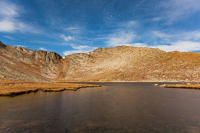 Photograph - Summit Lake Stars 1b by Al Hann
