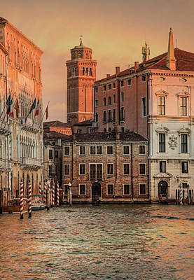 Photograph - Summy Morning In Venice by Jaroslaw Blaminsky