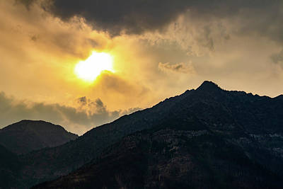 Wall Art - Photograph - Sun Breaking Through Clouds by Roslyn Wilkins