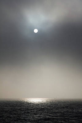 Photograph - Sun Coming Out From The Fog Lighting by Matteo Colombo