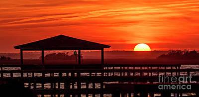 Photograph - Sun Hut by DJA Images