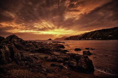 Photograph - Sun Rays by Werner Kaffl