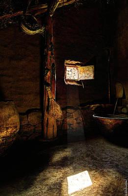 Photograph - Sun Through A Celtic Window by Weston Westmoreland