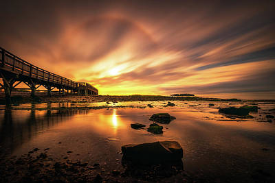 Photograph - Sunbow by Lechmoore Simms