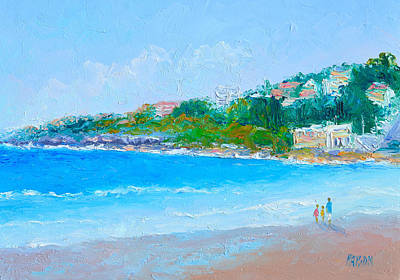 Painting - Sunday At Coogee Beach  by Jan Matson