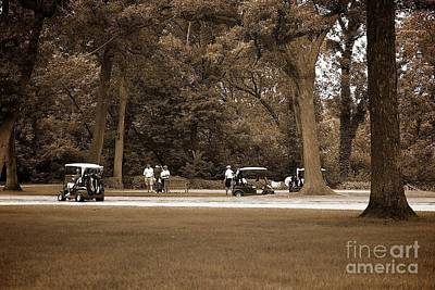 Photograph - Sunday At The Country Club by Frank J Casella