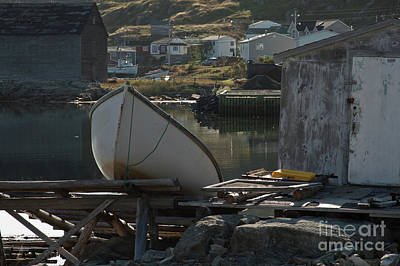 Photograph - Sunday Morning In Fogo Island, Newfoundland by Tatiana Travelways