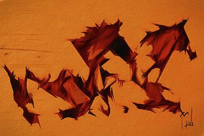 Digital Art - Sundown At Wild Horse Mesa by Terry Fiala