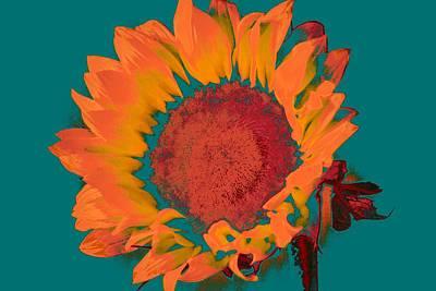 Traditional Bells - Sunflower Digital Art #08 by Noranne AG