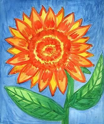 Painting - Sunflower by Irina Dobrotsvet